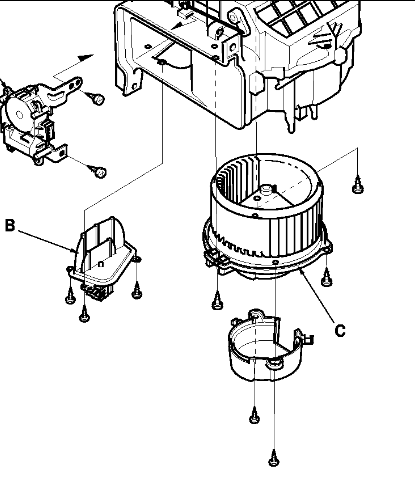 2004 Honda Pilot Blower Motor Diagram
