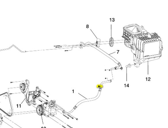 Where Do I Find The Ac Accumulator Intake On My 2005 KIA Sorento. KIA. 2005 KIA Sorento Heater Core Hose Diagram At Scoala.co