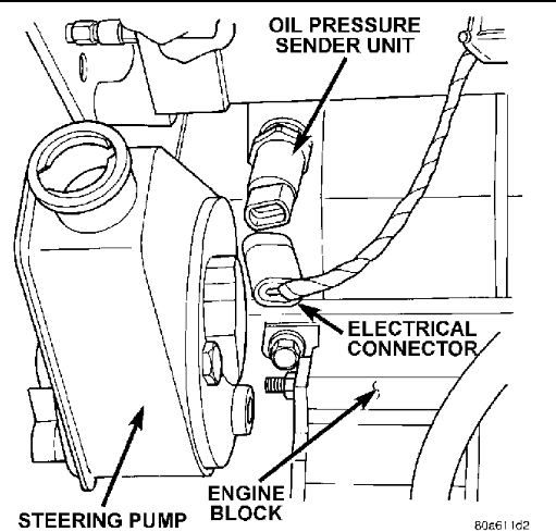 Dodge Power Steering Pump Diagram