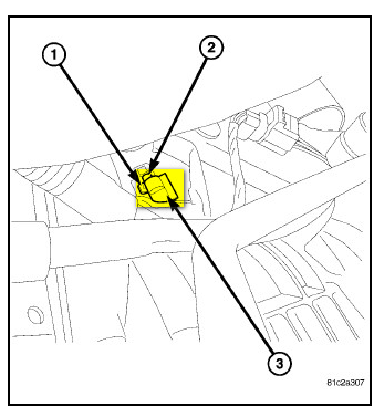 Where Is Crankshaft Position Sensor In Dodge Grand Caravan 3 3 2008