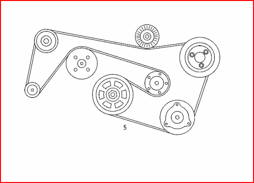 2000 mercedes s430 belt diagram