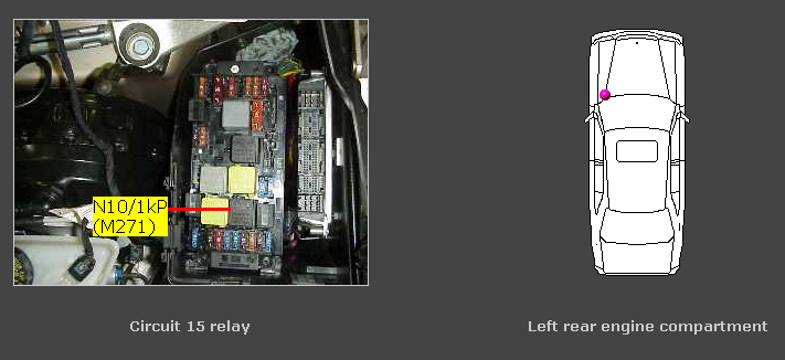 Where Is The 12 Volt Power Supply In A 2002 Mercedes C240