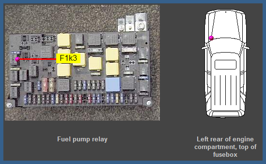 Fuel Pump Relay Ml on Mercedes Fuel Pump Relay Switch
