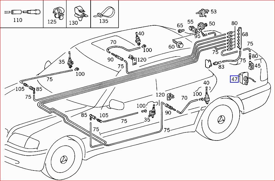 i have a mercedes benz c230 kompressor 1999  the trunk