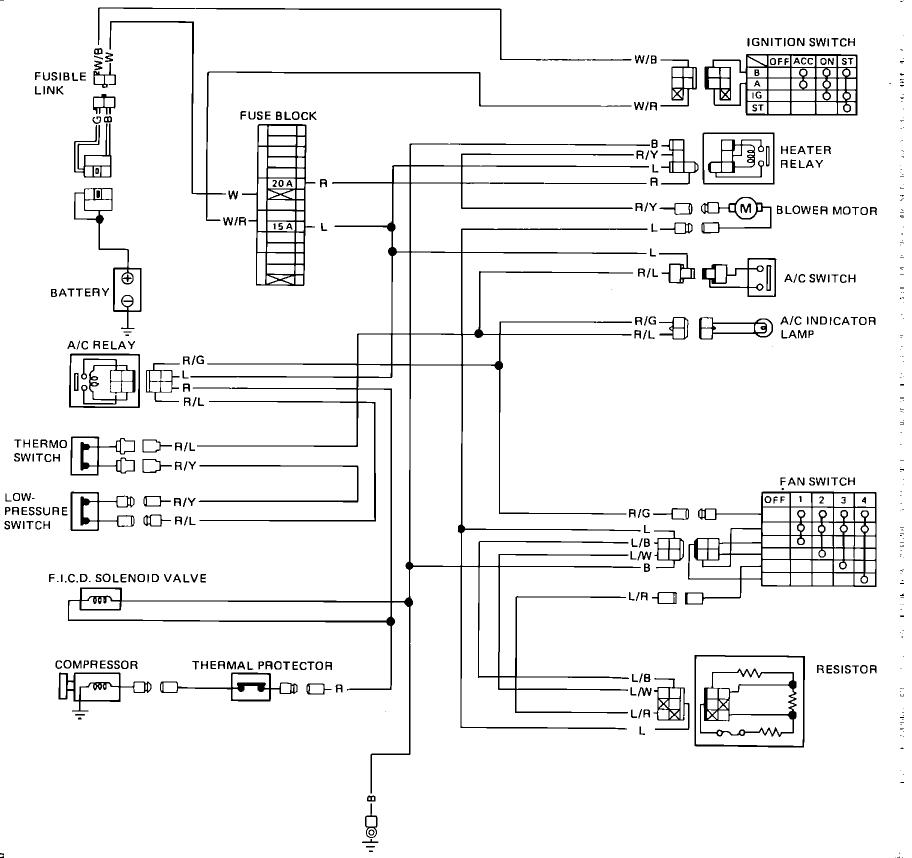 1992 nissan d21 vacuum diagram  u2022 wiring diagram for free
