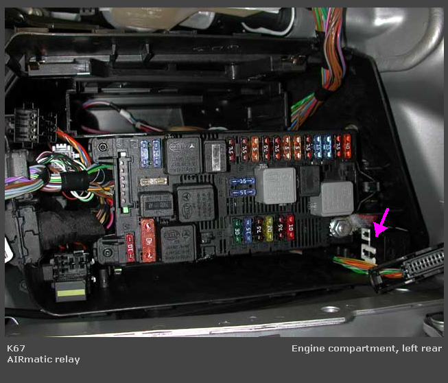 chevrolet impala under the hood fuse relay box oem i have a 2003 e500 and recently the left rear starting under the hood fuse box #4