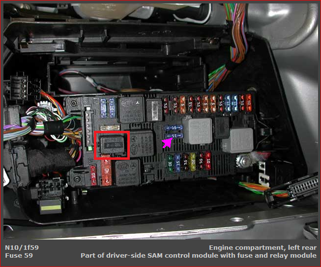is there a fuse that will prevent my 2004 e320 from. Black Bedroom Furniture Sets. Home Design Ideas