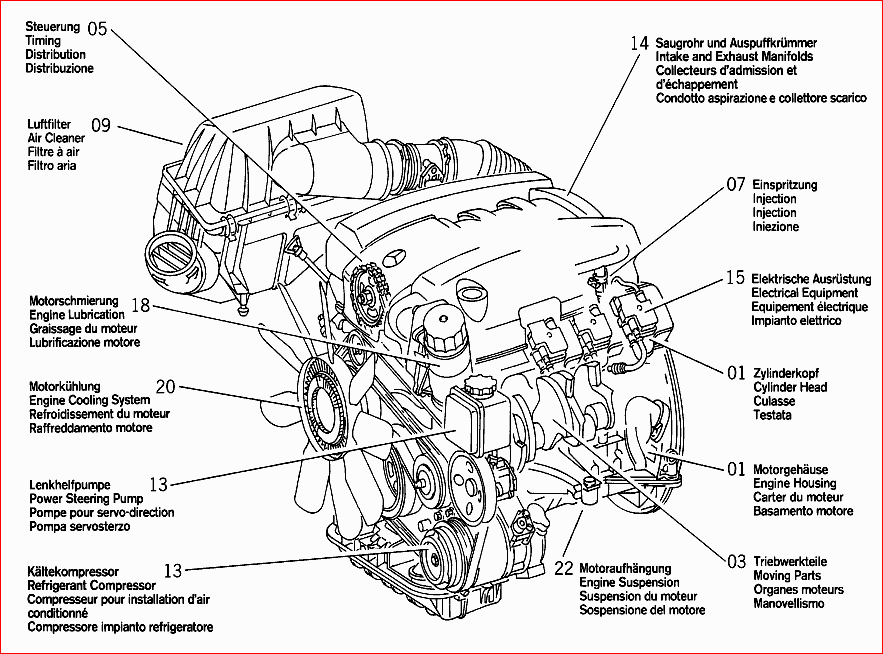 mercedes c230 engine diagram  u2022 wiring diagram for free