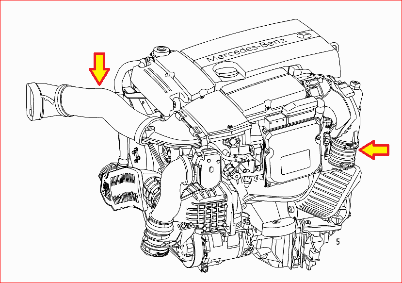 Mercedes Benz 2006 C230 Engine Diagram