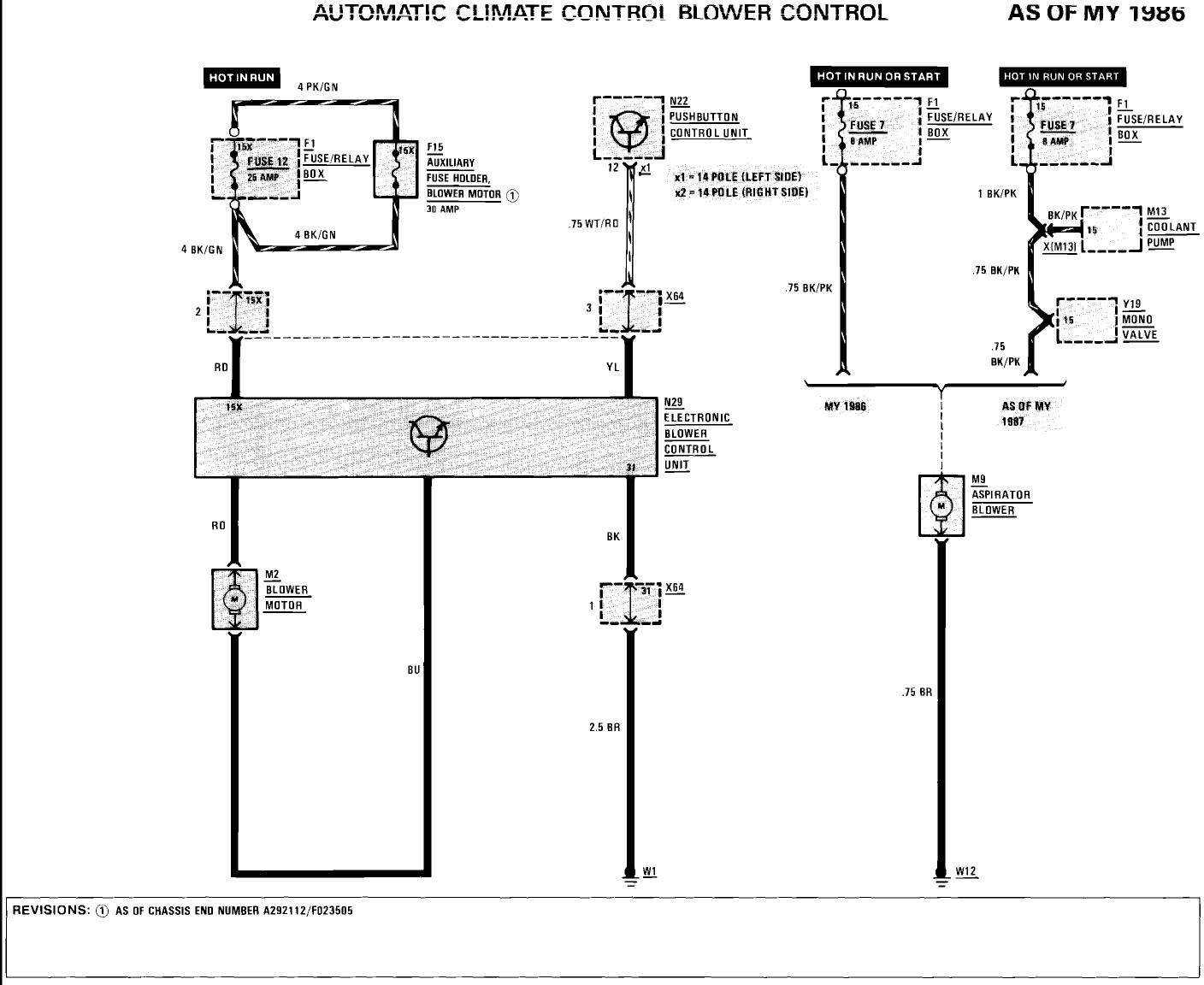 1988 mercedes benz 300e question  heater fan not working