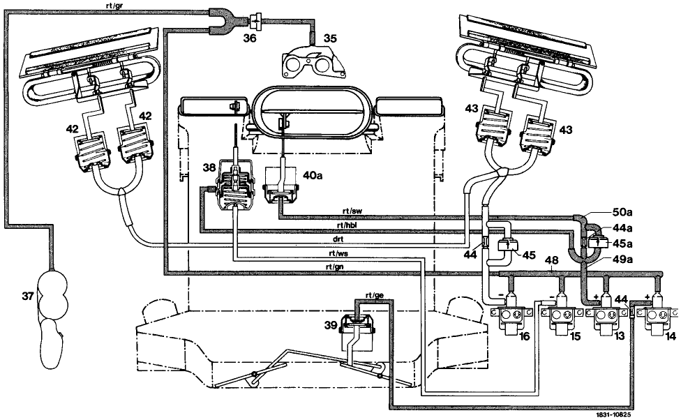 air conditioning diagrams 380sl mercedes wiring diagram hvac building management within the hvac system in my 84 380sl there is no air supply (vacuum 1996 mercedes sl 380 air conditioning diagrams 380sl mercedes
