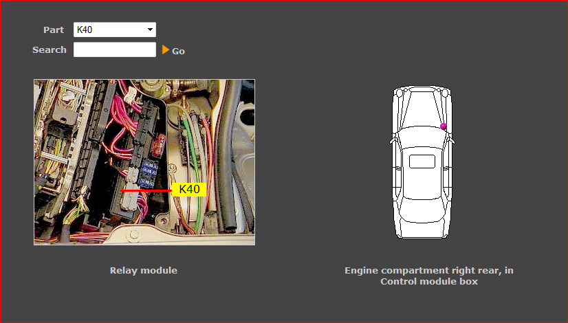 E300td Wiring Diagram : Where is the k relay for injector pump sov valve