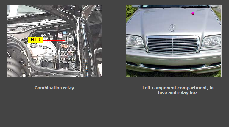 On A 1996 Mercedes W202 Hazard And Turn Signals Won't Workrhjustanswer: 1996 Mercedes C220 Fuse Box At Oscargp.net