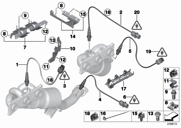 I Have A 2006 Bmw 325i It Is Easy To Remove Bank 1 O2 Oxygen Sensor