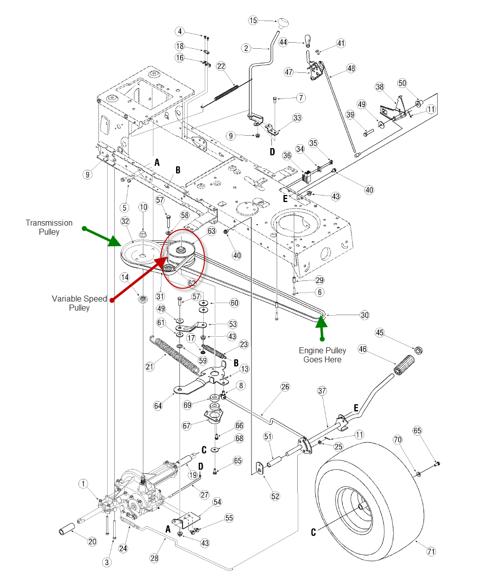 172023331490 together with Dir Kids Baby furniture And Decorations children S Bookcase 0107368 furthermore Bush Hog Wiring Diagram additionally 231967566966 likewise Craftsman Peerless Transaxle. on john deere lawn mower parts on ebay