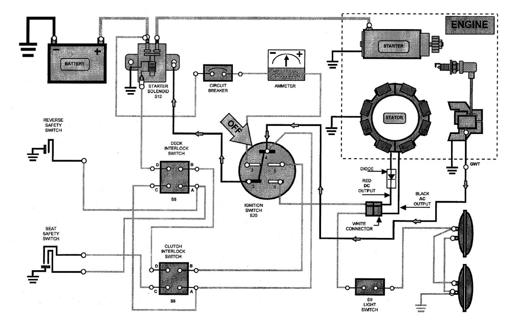engine key switch wiring diagram wireing    diagram    for    key       switch    for mtd model 136q695h352  wireing    diagram    for    key       switch    for mtd model 136q695h352