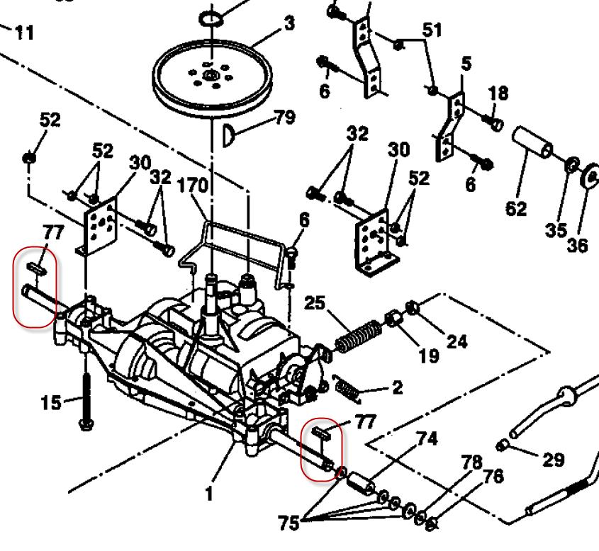 I have a Craftsman LTX1000 lawn tractor I had a flat right – Ltx 1000 Craftsman Small Engine Starter Diagram