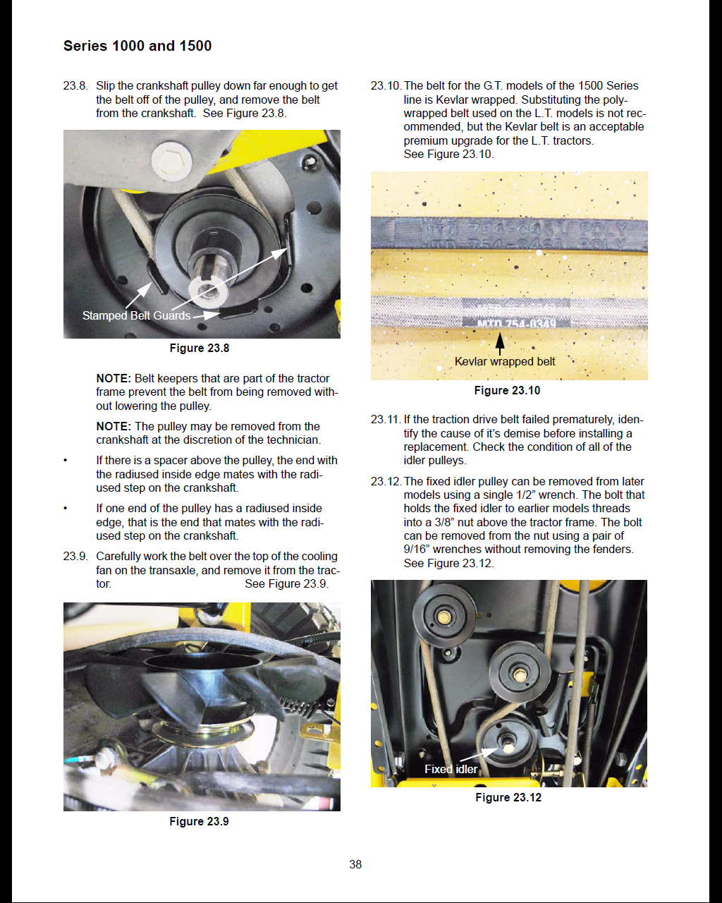 Simple Cub Cadet Belt Replacement And Deck Install Manual Guide