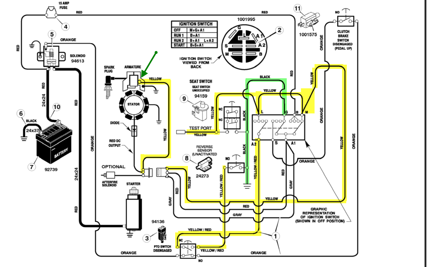 briggs and stratton stator wiring diagram  | 1086 x 586