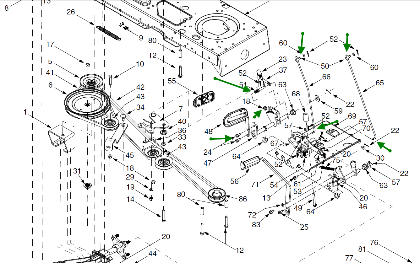 troy bilt mower wiring diagram wiring diagrams schematics troy-bilt 42 inch