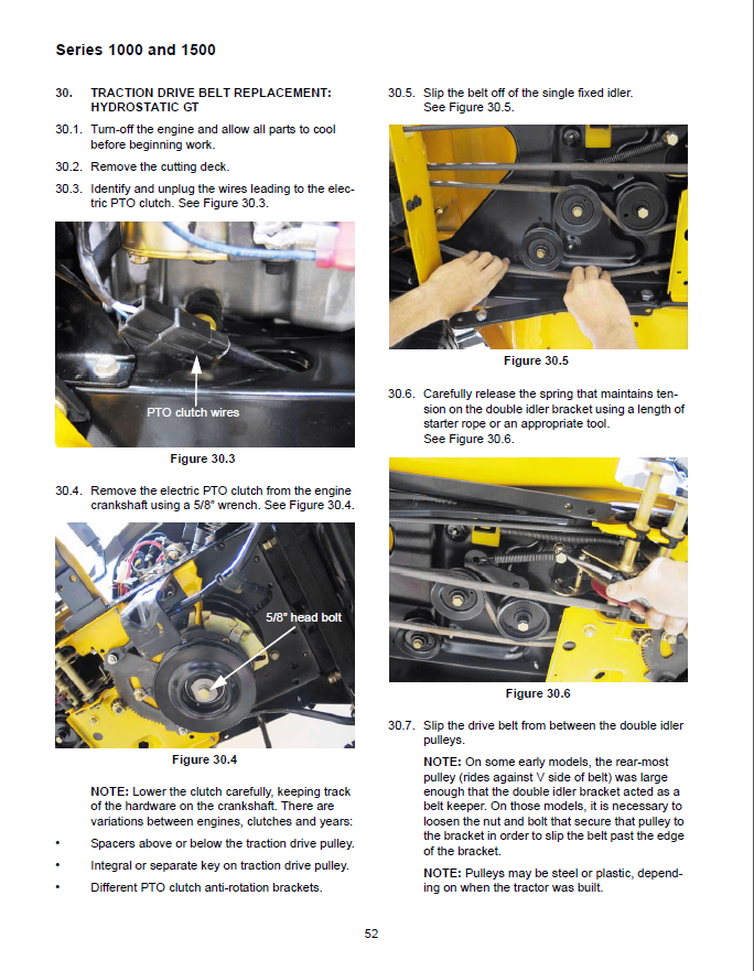 cub cadet electric clutch removal choice image