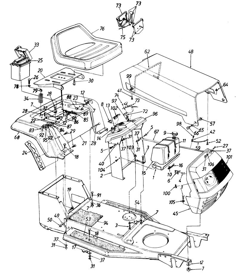 Generac Wheelhouse 5500 Generator Part