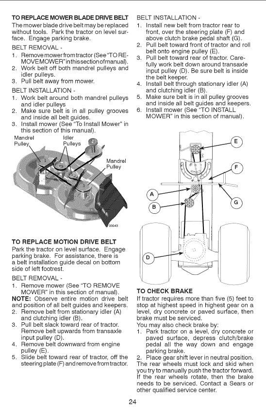 2011 10 07_214943_image_20 how do yo tighten the motion drive belt on craftsman lt2000 6 craftsman ys 4500 wiring diagram at reclaimingppi.co