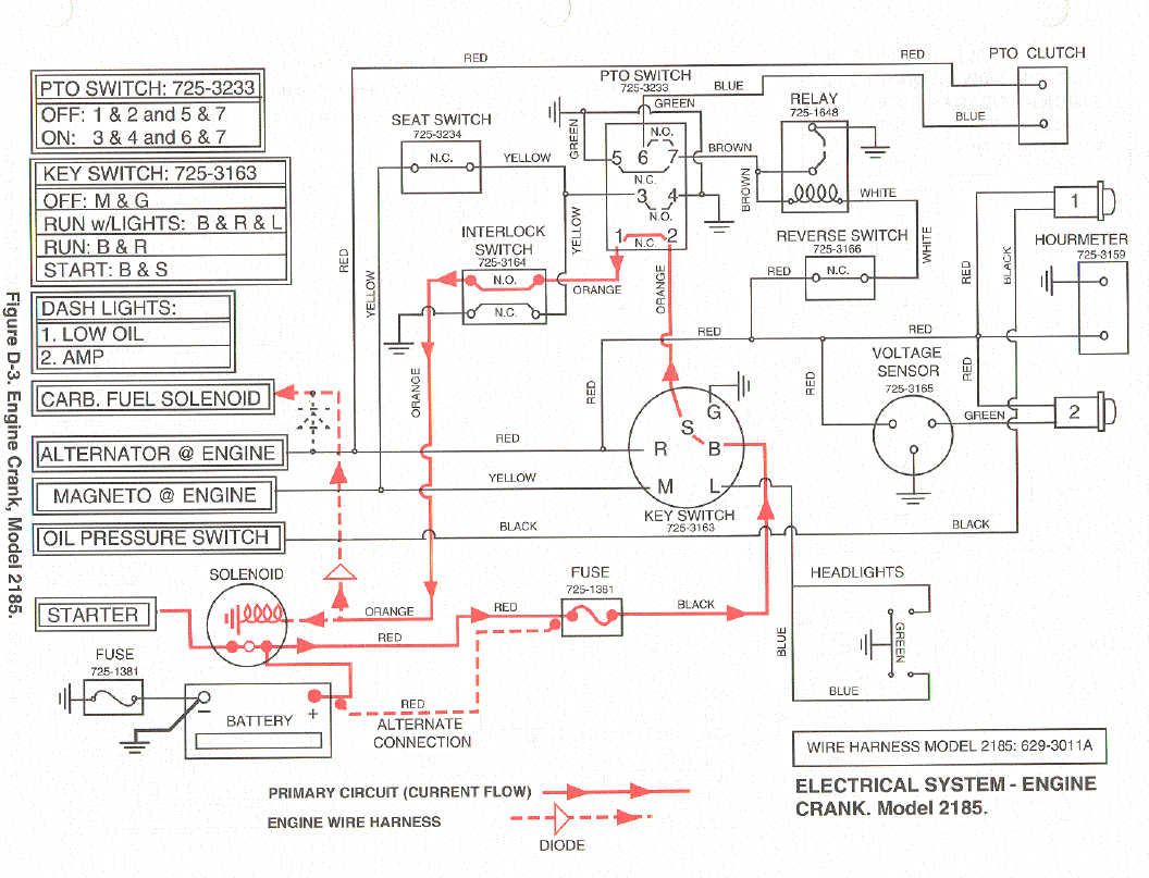 Wheeler Diagram Time Wiring Will Be A Thing Honda 3 I Have 2185 Cub Cadet That Won T Start Jumped 4 Suzuki Four Ignition
