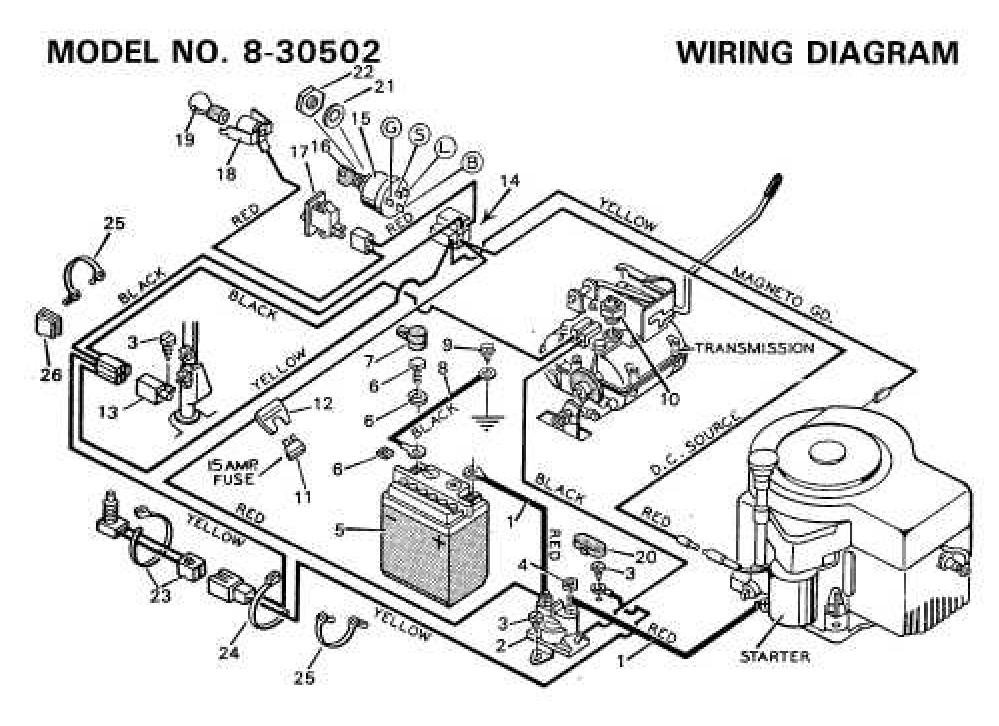 Murray Wiring Diagram