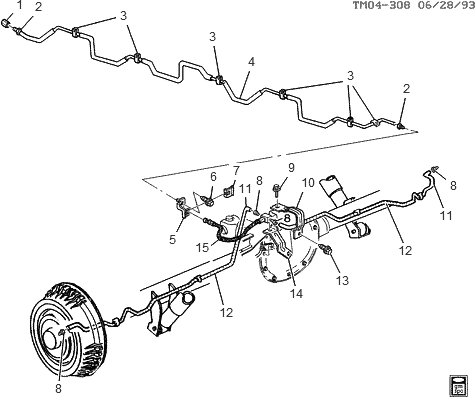 Gmc Sierra Rear Brake Diagram