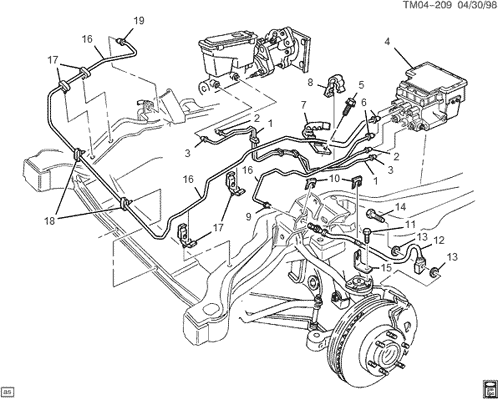 Chevy S10 2 8 Engine Diagram additionally 305hb Turn Signal Relay Located 2000 Chevy Ton together with Pedal Del Embragueclutch Sin Presion also 72ikk Chevrolet S10 99 S10 2 2 Will Not Start Will Try Almost besides 49smm Gmc Safari Rear Wheel Front Brake Rear Brake Hydraulic Cylinder. on 2000 s10 wiring diagram