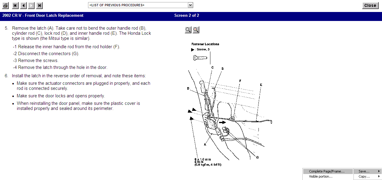 my 2002 honda crv rear passenger right door lock doesn t honda cr v 2002 service manual download 2002 honda cr v owner manual
