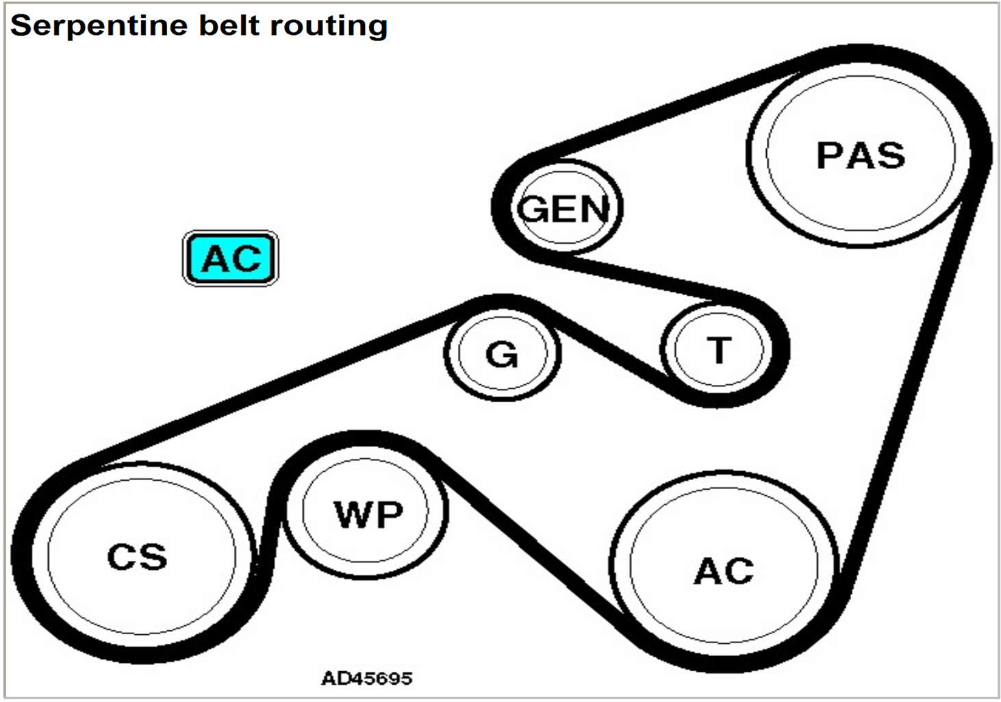 2006 acura tl belt diagram
