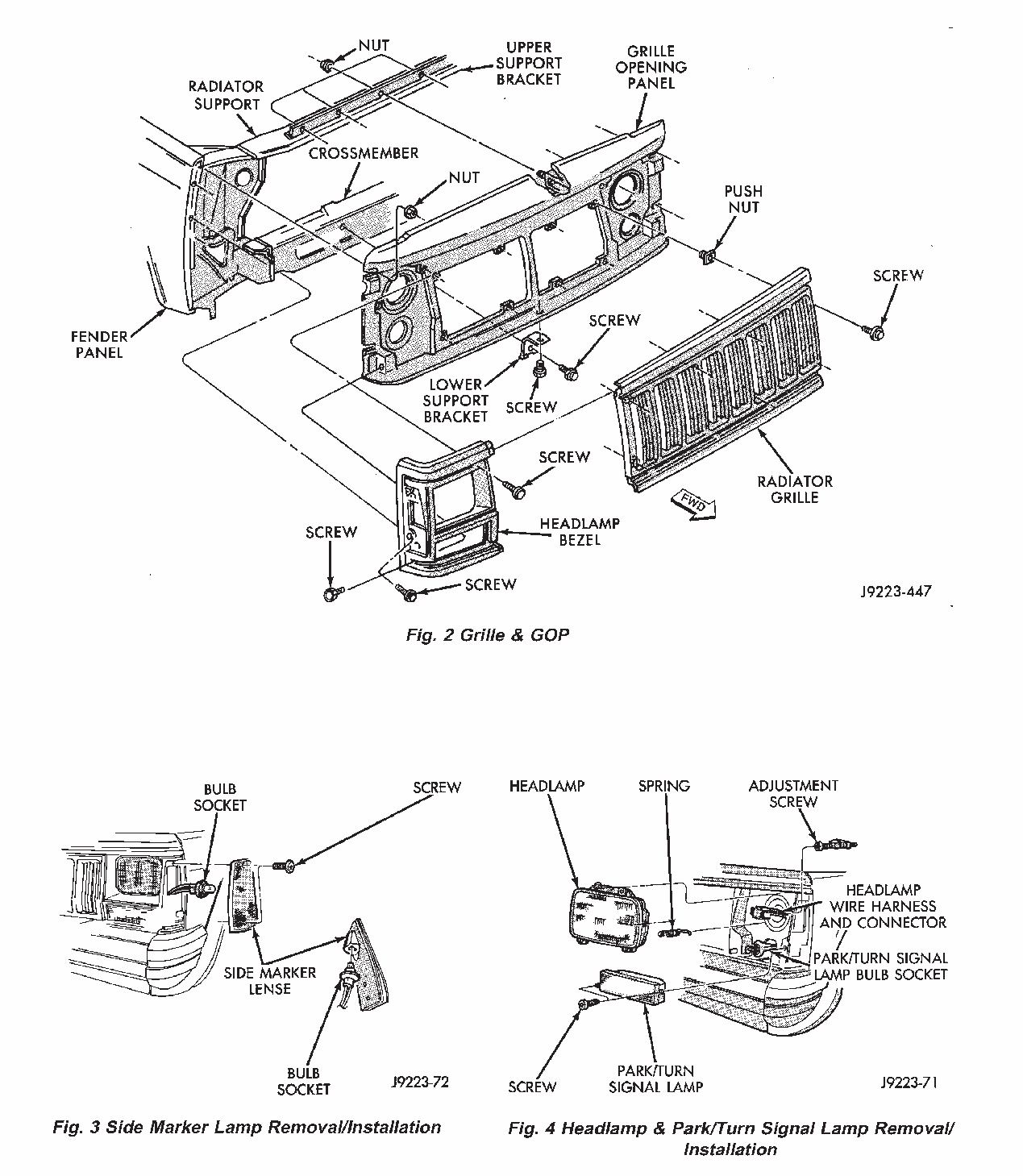 1994 Jeep Cherokee Left Frontbumperanybody Got A Diagram 2010 Grand Engine Graphic