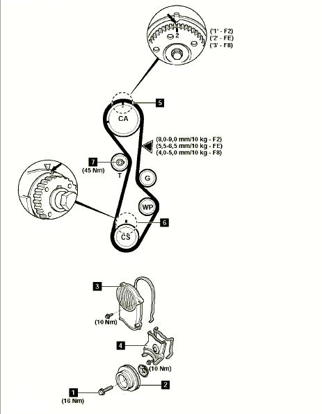 Mazda 626 1989 Has A Ford Telstar 2 2 Motor In It  Has Had