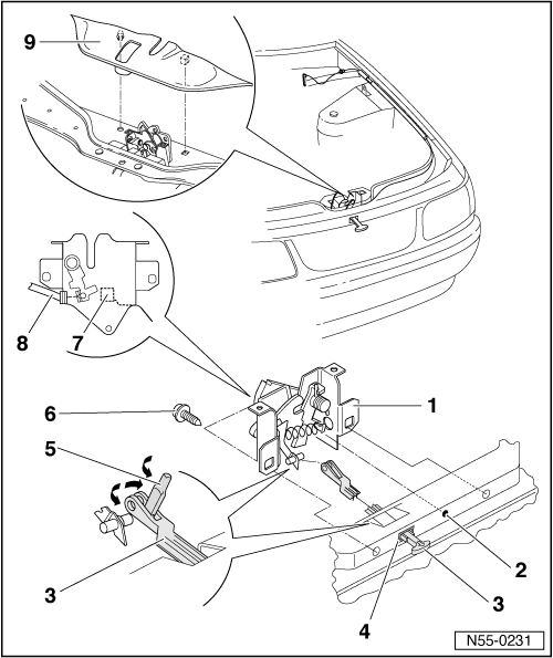 my 2002 passat s secondary hood release plastic pull with a red rh justanswer com 2001 Ford Explorer Hood Latch Chevy Malibu Hood Latch Diagram