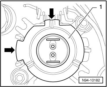 reinstall in reverse order make sure the cap is seated to ensure no water  enters the headlamp