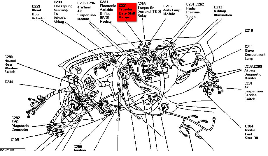 1997 ford expedition drivetrain diagram  ford  auto parts