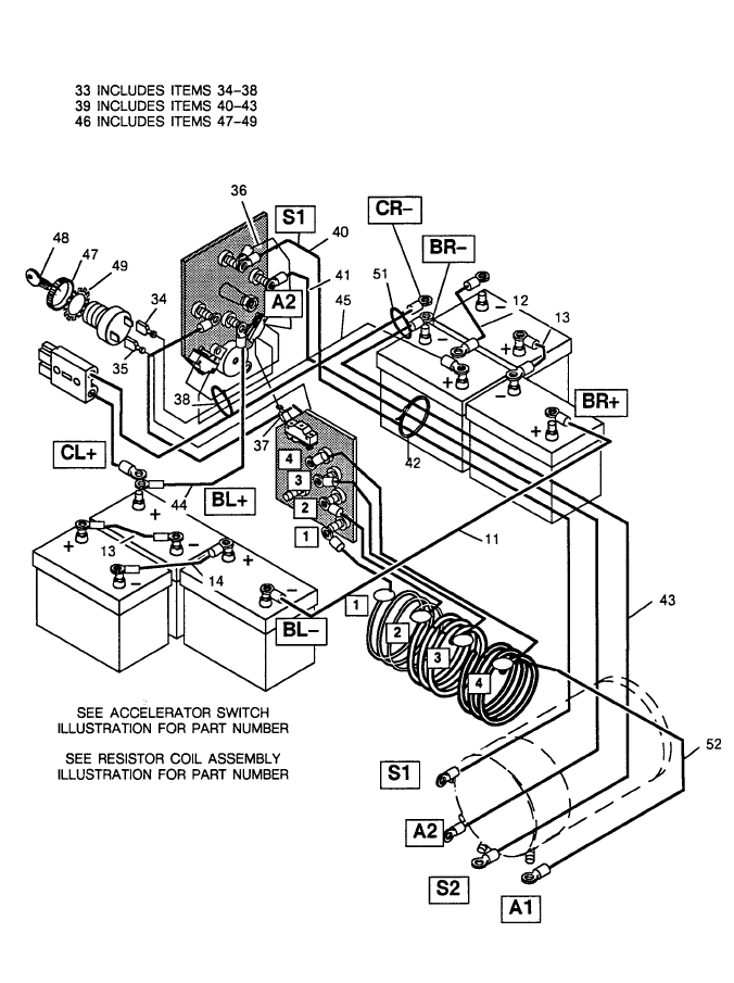 2009 ezgo wiring diagram i want to hot wire a 91 elec. ez go. was no key switch or ... 84 ezgo wiring diagram electric