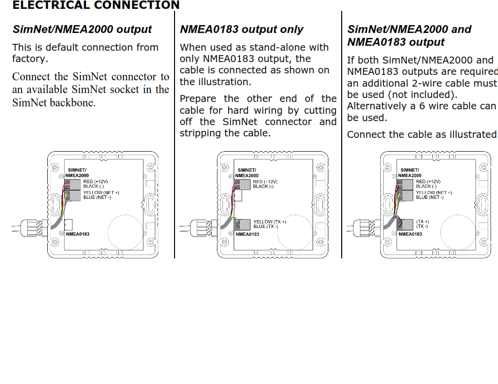 I Have A Lowrance Hds 8 And Broadband Radar Uniden Nmea Cable Wiring Diagram Graphic
