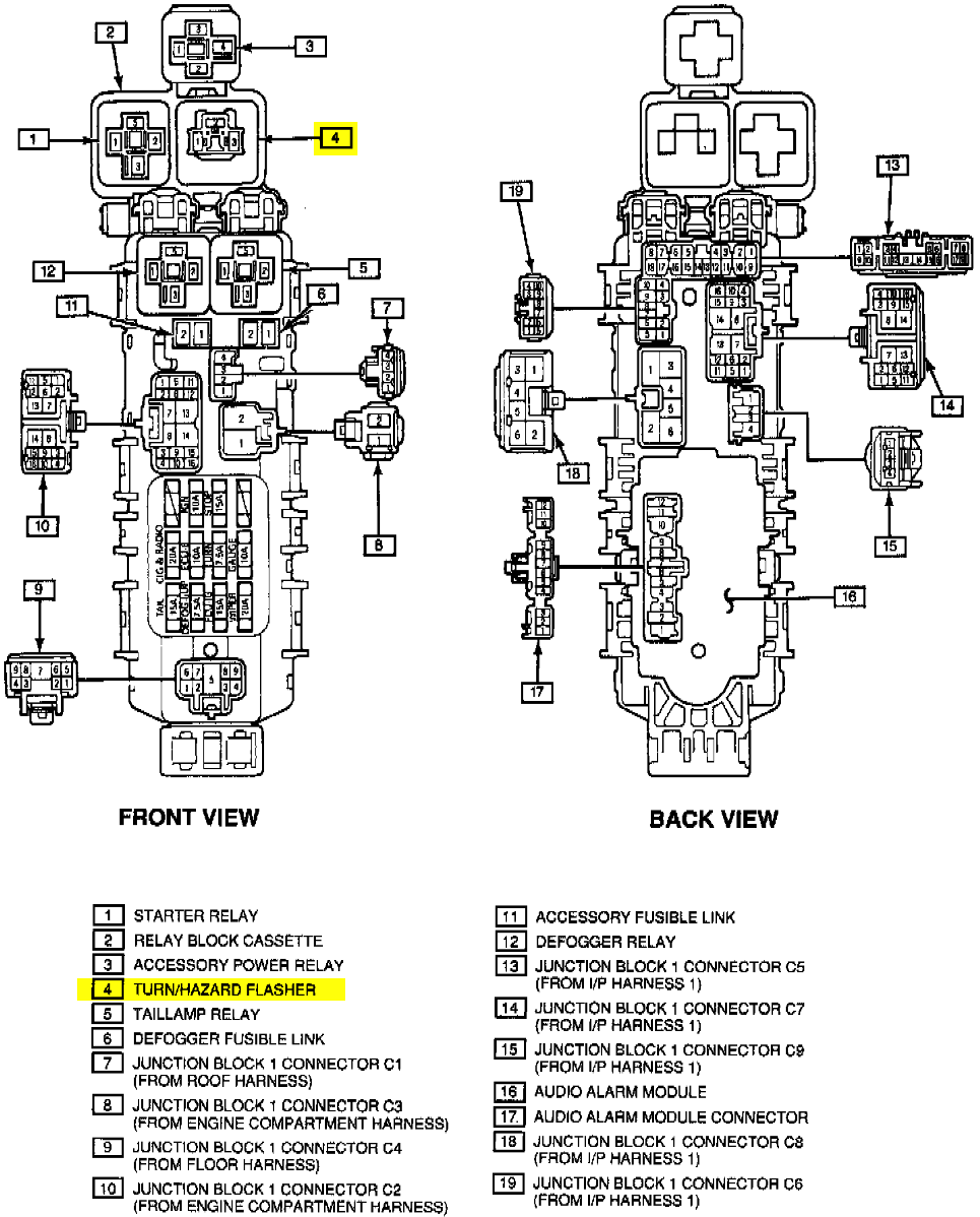 93 Geo Prizm Fuse Box 1993 Engine Diagram Regarding A Lsi Blinkers Do Not Work Tracker