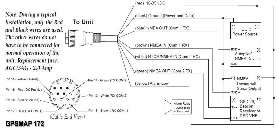 garmin gsd 22 wiring diagram