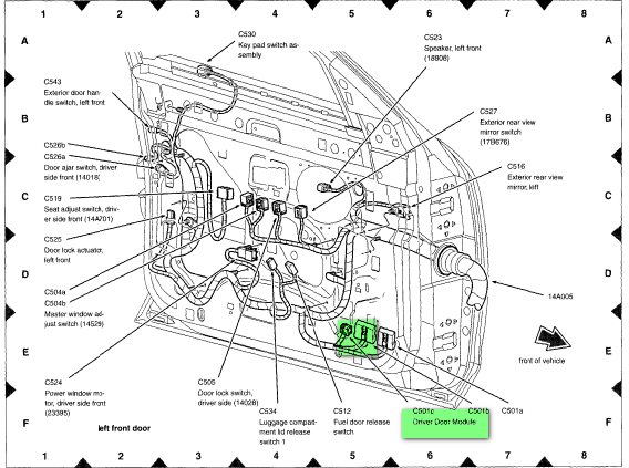 Ford Keyless Entry Code Location Wiring Diagram Fuse Box