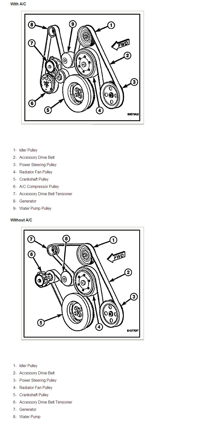 32 59 Cummins Serpentine Belt Diagram