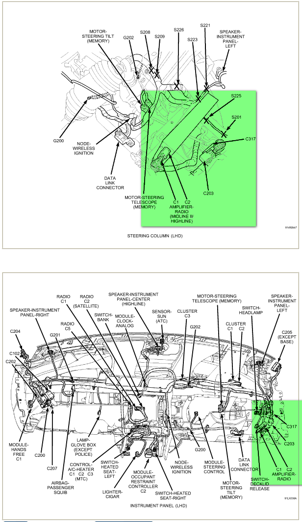 Where Can I Get A Copy Of Dodge Charger 2009 Wiring Diagrams  I U0026 39 M Primarly Interested In Speaker