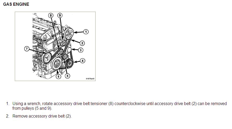 Where    can       i find    a    diagram    for a 07 Dodge Caliber serpentine belt