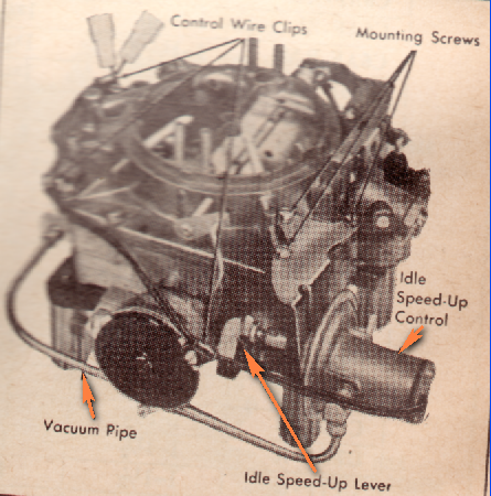 I M Working On My 66 Cadillac 429 Engine In The Vacuum Diagram It Says There S A Vacuum Line That Goes To Idle