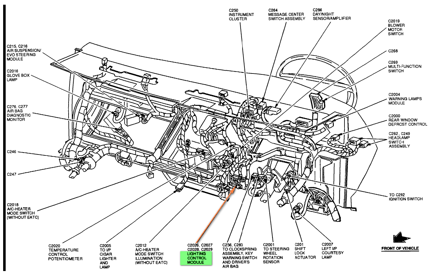 lincoln mkx wiring diagram automotive  lincoln  auto