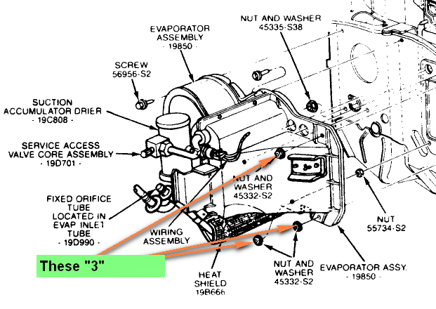 heater core removal in a mercury grand marquis 1989 rh justanswer com 1996 Mercury Grand Marquis Engine Diagram 1992 Mercury Grand Marquis Engine Diagram