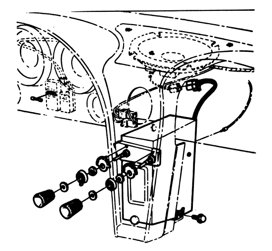 How To Rr 64 Corvette Radio And Speaker